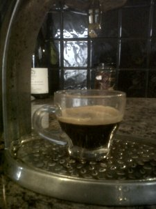 An Espresso Shot Yesterday