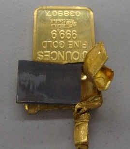 tungsten-gold-bar